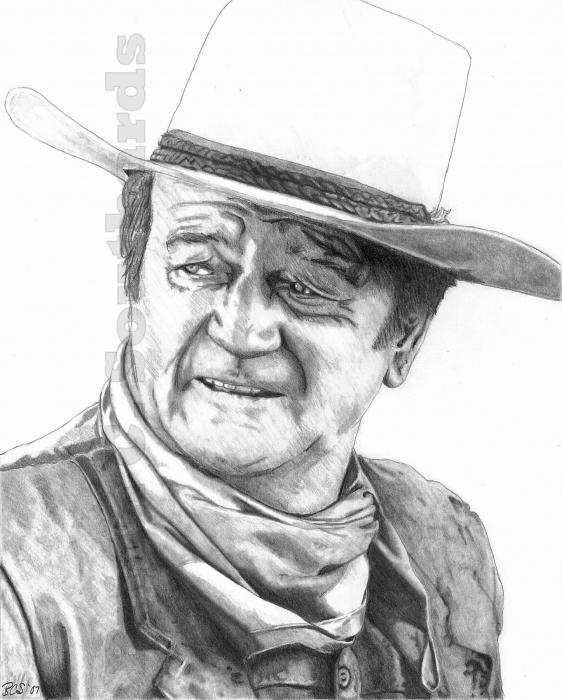 John Wayne par bcsusmc75